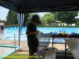 Schnuppertauchen Ferienspass Stadensen 2010