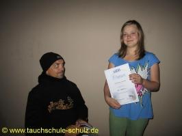 Linda Adelmann, IDA CMAS T1 (Bronze)