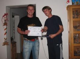 Markus Kruse, Cross-Over IDA CMAS Bronze (*), 16.07.2008
