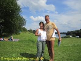 Claudia Lindner, Spezialkurs Orientieren unter Wasser, 10.07.2011