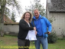Antonia Luck, IDA CMAS Grundtauchschein, 06.04.2014
