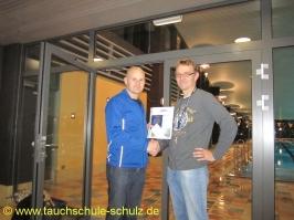 Florian Dziubiel, IDA CMAS Grundtauchschein, 07.12.2012